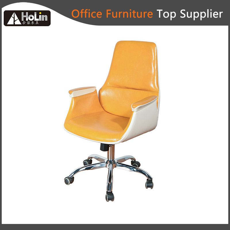 Modern Shinny Pu Leather Soft Cushion Home Office Chair