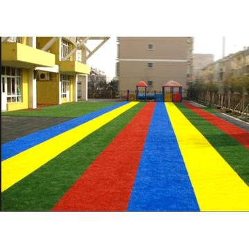 Rainbow Artificial Grass Coloured Runway Artificial Turf