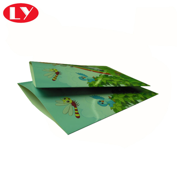 Envelope paper pouch for photos packaging
