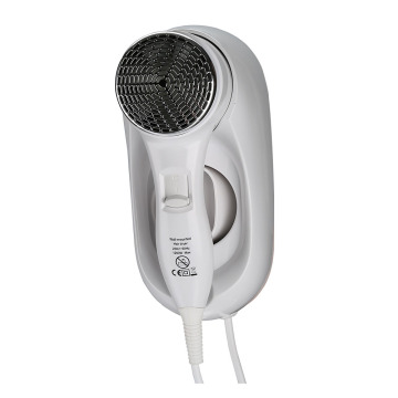 Mini Hotel Hairdryer Wall Mounted White Hair Dryer