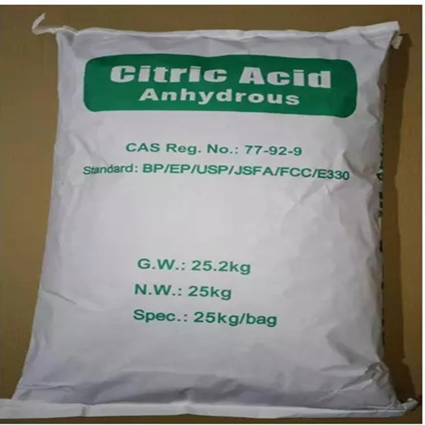 Food Additive Citric Acid Anhydrous 99.5%