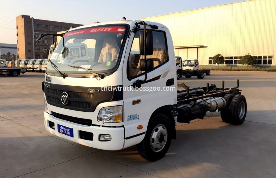 foton water truck  chassis 1