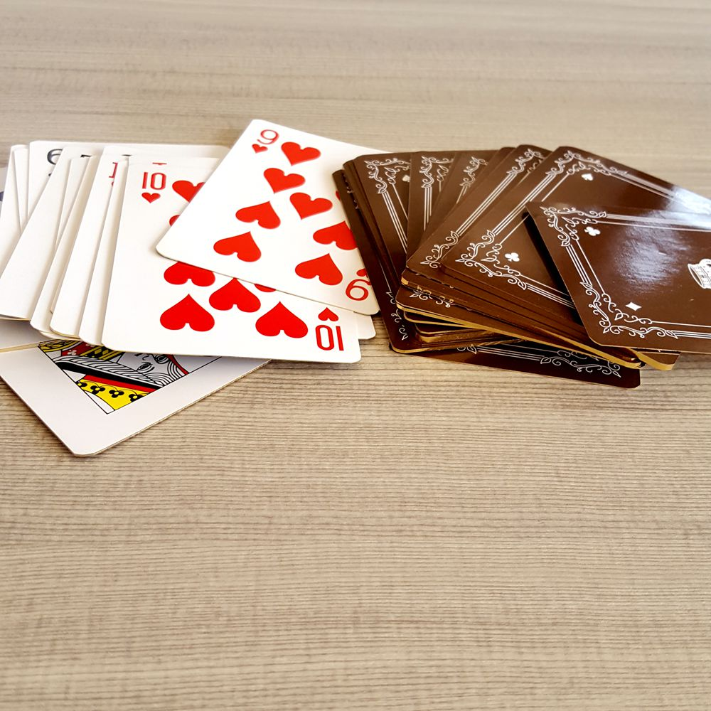 Plastic Poker Card