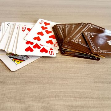 Custom print high quality adult Plastic playing cards