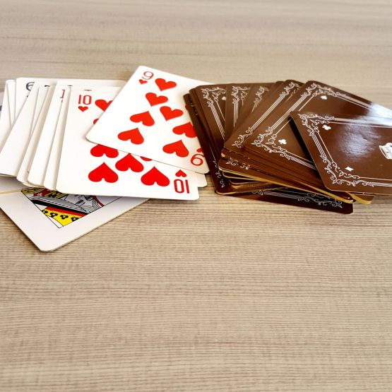 playing cards design logo
