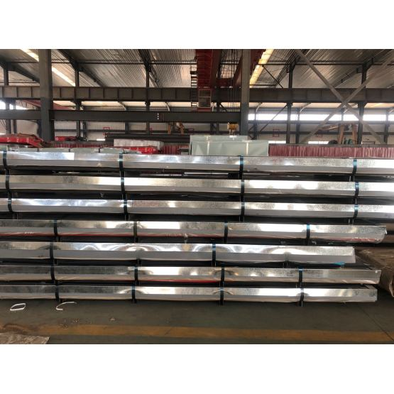 Cold Corrugated Sheet Steel With Good  Quality