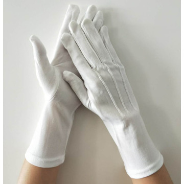 White Pallbearer Cotton Gloves
