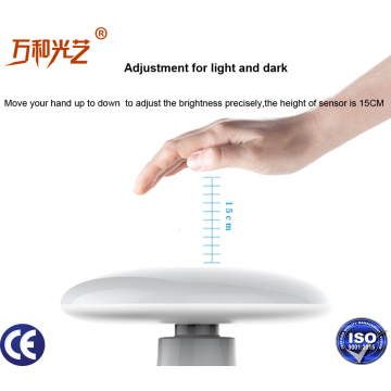 Intelligent led air purification table lamp