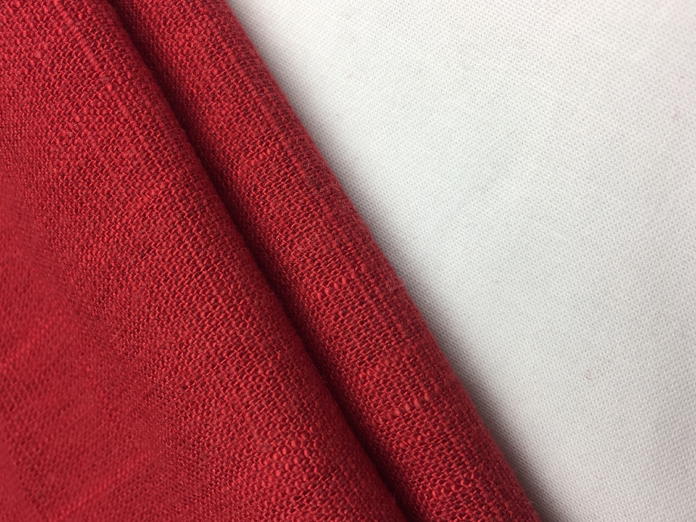 Linen Woven Solid Fabric