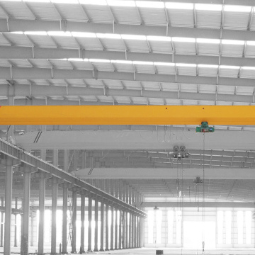 Electric single beam EOT crane warehouse use