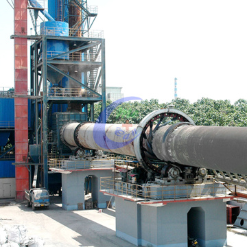 Long working life Cement Rotary Kiln Making Machine