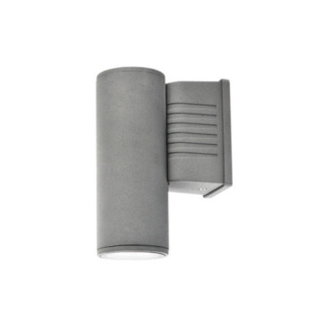 Square Dark Grey  5W Outdoor Wall Light