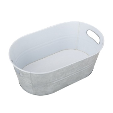 Galvanized Steel Beverage Tub Ice Bucket For Wholesale