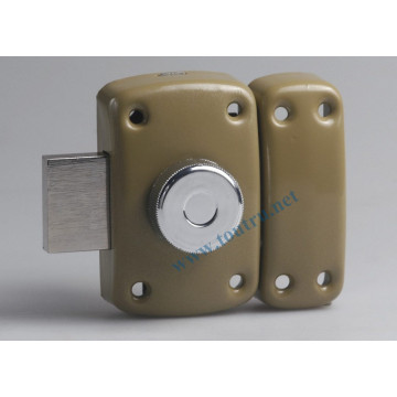 Secur rim door lock solid brass lock