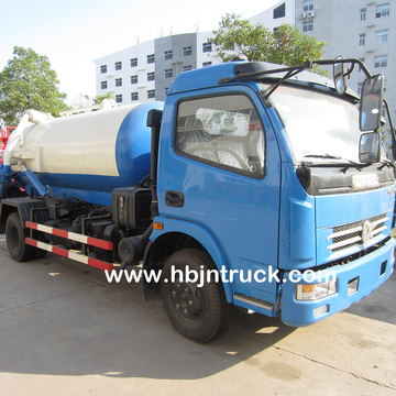 Dongfeng 6000 liters Sludge Suction Tank Truck