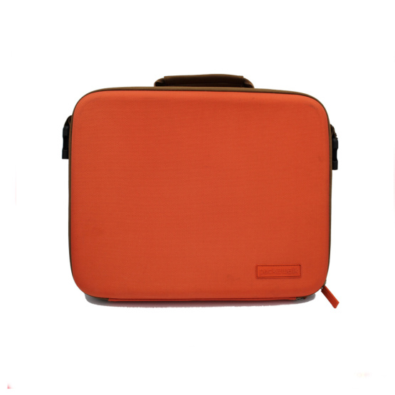 Multifunction custom logo computer laptop briefcase case with handle
