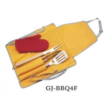 4-Piece Grill Tool Set
