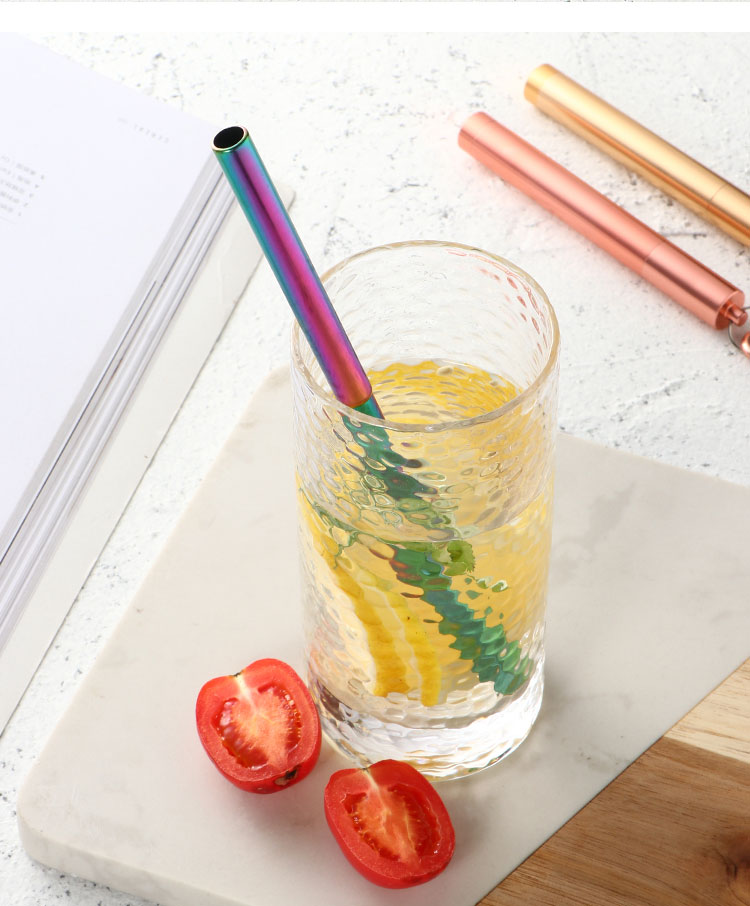 Telescopic Drinking Straw Set