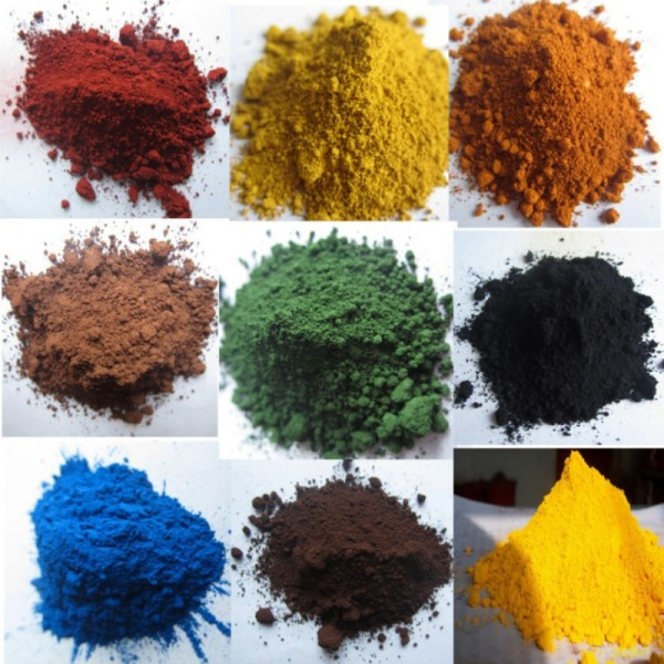 Iron Oxide As Colorant In Paint