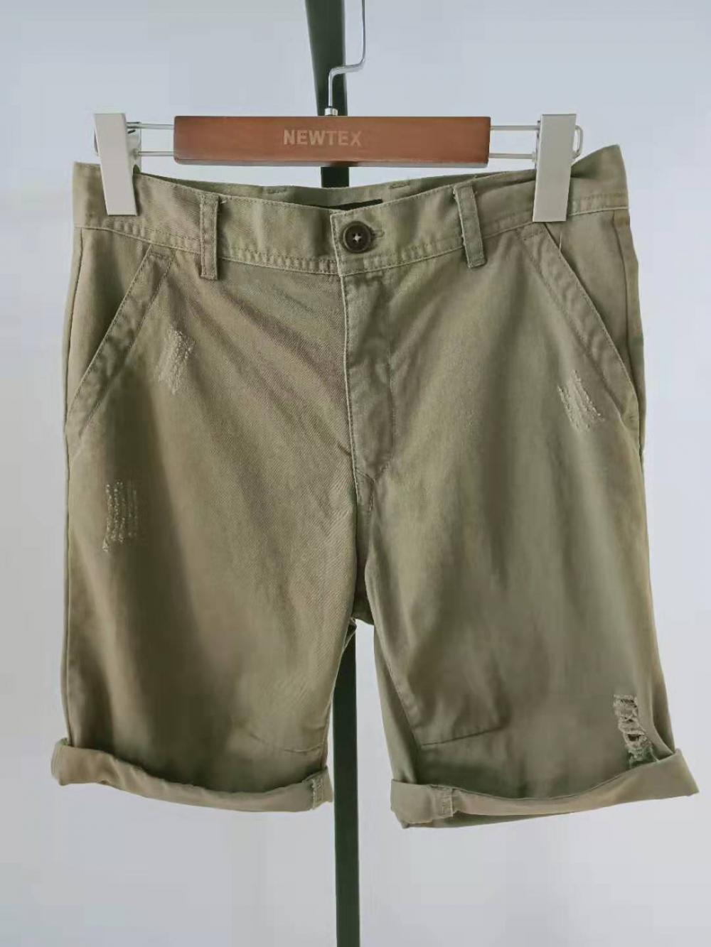 turn up hem mens shorts