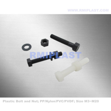 PVC Hex Head Bolt And Nut