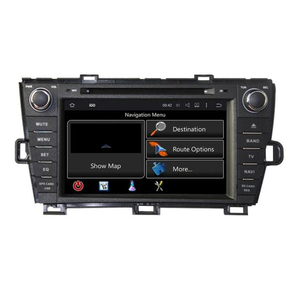 Toyota Prius Right Hand Navigation systems