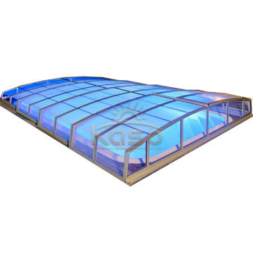 Winter Retractable Inground  Swimming Pool Cover