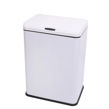Rectangular Sensor Automatic Dustbin 2 Compartment 50L