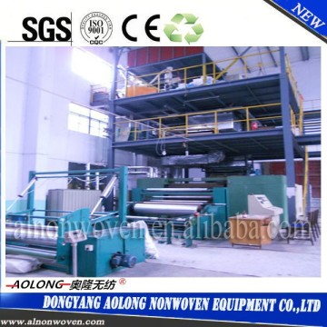 AL-3200SS 3.2m double beam PP spunbond non woven fabric making machine