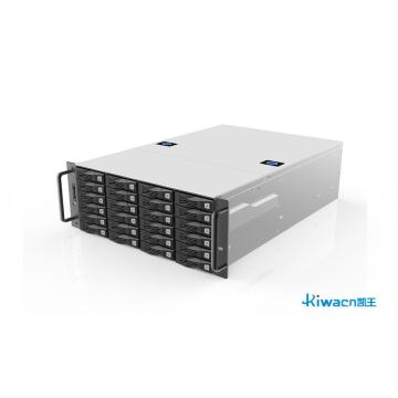 4U 24-bit high-performance and high-density storage chassis