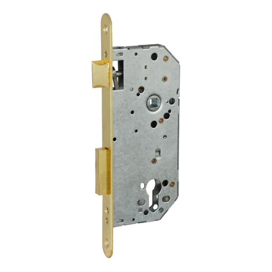 mortise door lock with latch and deadbolt