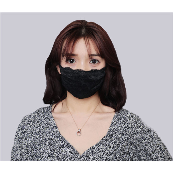 New Design Embroidered Mask Elegant Face Mask