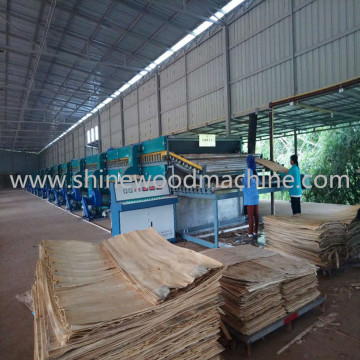 3 Deck Core Veneer Dryer