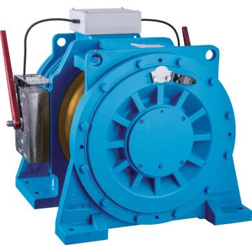 Gearless Double Wrap Elevator Traction Machine ,Traction Ratio 1:1 2:1 WTYF328