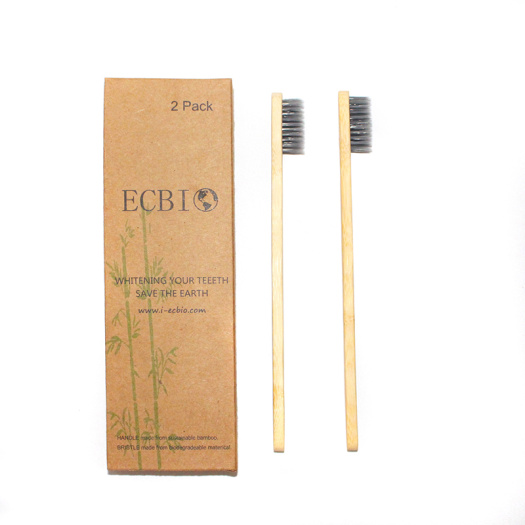 ECO Bamboo Toothbrush Degradable Toothbrush ECO Packag