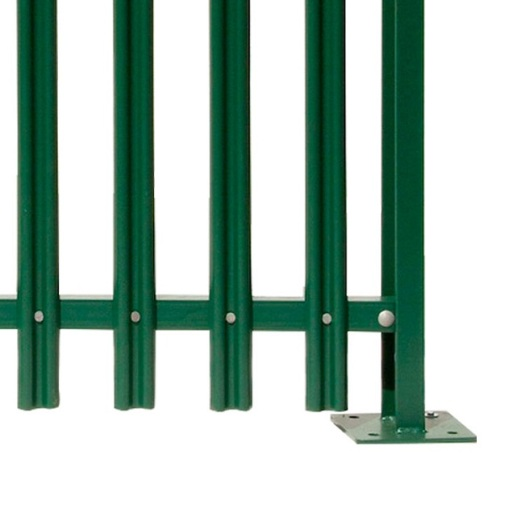 High Quality Commercial Industrial Steel Security Palisade Fencing