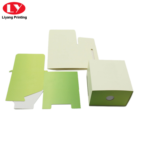 Paper sliding drawer box folding drawer box