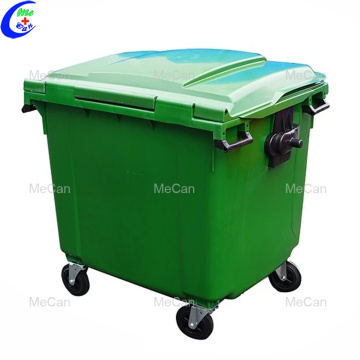 Plastic Flip Waste outdoor garbage bin