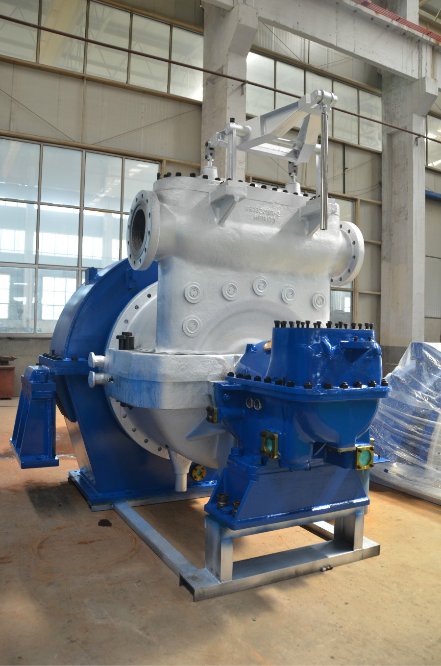 Condensing Steam Turbine 22