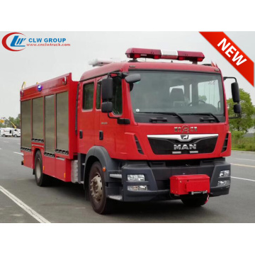 Brand New Arrival MAN CAFS foam fire truck