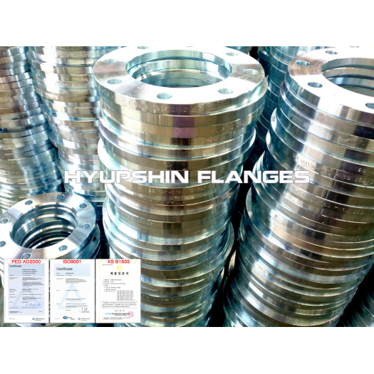ISO 9624 Flanges Lap Joint Galvanizing PN10 PN16