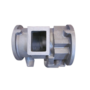 Cast iron motor housing