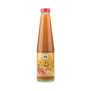 500g Glass Bottle Plum Sauce