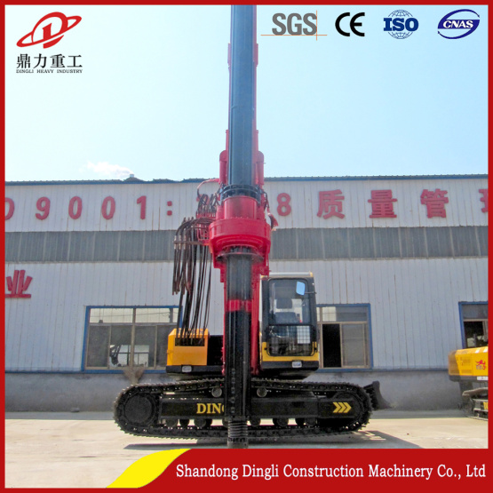 foundation engineering construction piles drilling rig