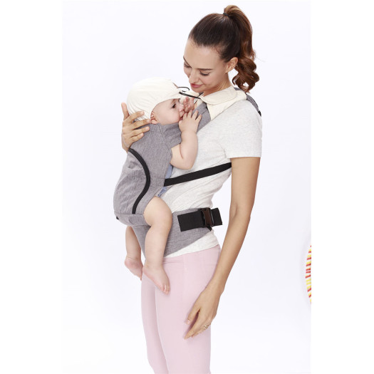 Comfortable Positions Front Wrap Baby Carrier