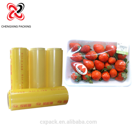 Pvc Cling Film for Food Wrapping