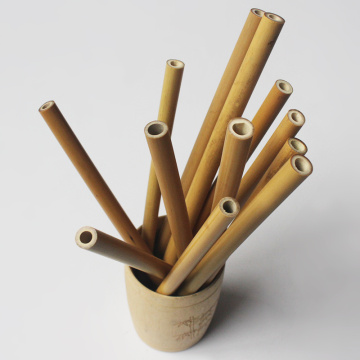 Natural Organic Bamboo Drinking Straws