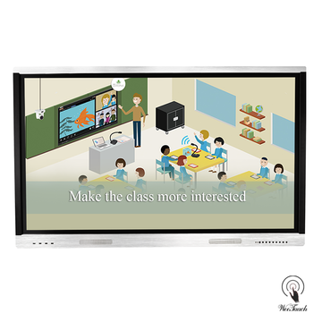 75 inches win/Android OS smart LCD whiteboard