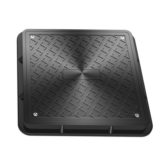 Square SMC Sewer Manhole Cover With Frame