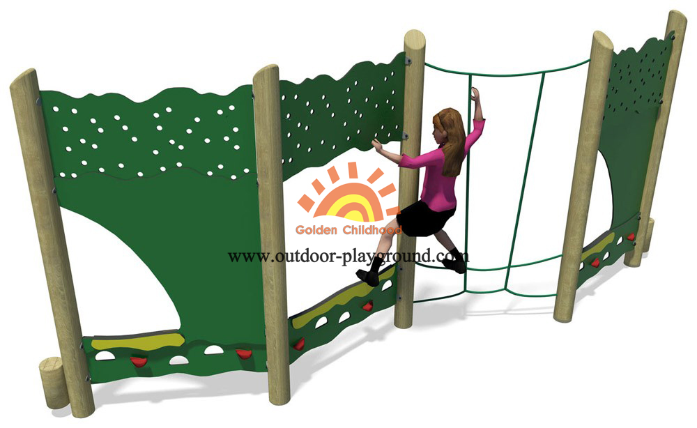 panel climber outdoor playground for kids